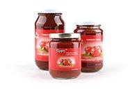 Tomato Paste in Glass Jars